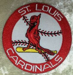 St. Louis Cardinals Baseball 3.5quot; Iron Sew On Embroidered Patch FREE Ship $4.95