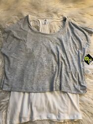 NWT Women's Champion Large Tank With Shirt $10.00