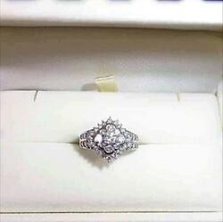 Time Sale platinum diamond ring a total of 1 kt (A7660
