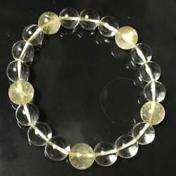 Rutile Quartz 9mm ball 5 stone  crystal 8mm use inner diameter of about 15.