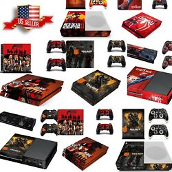 PS4 Pro Wrap Skin Sticker PS4 Slim Xbox One S 360 Console Skin Vinyl Decal