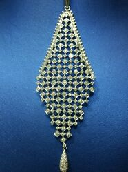 Diamond Necklace Pendant in 18kt Gold