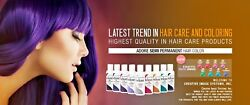 Adore Semi Permanent Hair Dye Color 118mL ***AUTHENTIC amp; FREE SHIPPING $6.95