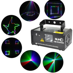 SUNY DM RGB400 Scan Beam Lamp Party Effect Laser Lighting for KTV Family Party. $115.01
