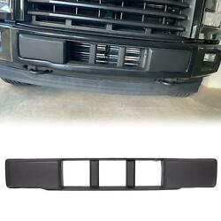 Front Bumper Cover Lower Grille Trim Panel Black For 2015 2017 Ford F 150 $34.99