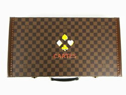 Louis Vuitton Damier SPO special order Trump hard case LV 40793 (N1907