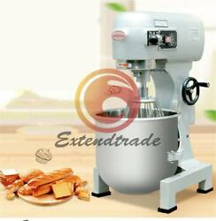B10 Commercial Food Mixer Gear Driven Dough Flour Paste Three Speed 10L