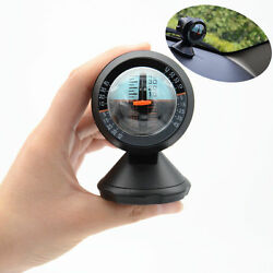 Car Auto Outdoor Travel Angle Tilt Indicator Level Slope Meter Gauge Protractor $9.20