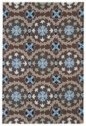 Kaleen Rugs Home & Porch IndoorOutdoor Rug Red 3' x 5'