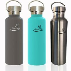 Premium Stainless Steel Double-Wall Vacuum Insulated Water Bottle