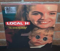 LOCAL H - As Good as Dead Limited 180G 2LP CLEAR SMOKE VINYL Gatefold + DL New!