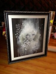 Audrey Kawasaki - She Who Dares - Professionally Framed Limited Edition