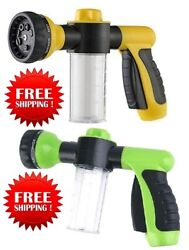 Buyplus Hose Foam Sprayer Upgraded Garden Water Hose Snow Cannon Foam Nozzle $16.95