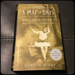 A Map of Days (Miss Peregrine's Peculiar Children) Ransom Riggs Signed Hardcover