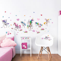 Magical Unicorn Wall Stickers for Kids bedrooms Walltastic GBP 14.99