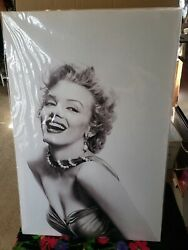 Home Art 16 by 24quot; Marilyn Monroe canvas $15.00