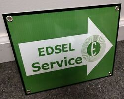 Edsel Service Ford sign