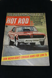 HOT ROD Magazine September 1968 Don Nicholsons Chevy 600 from Chevy#x27;s 427 $9.99