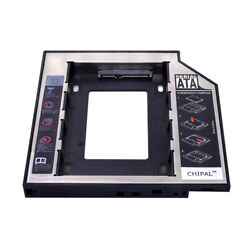 9.5mm SATA 2nd HDD SSD Hard Drive Caddy for Universal Laptop CD DVD-ROM HDD