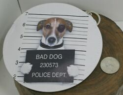 Coin purse dogs dog criminal mugshots very cute 4 different designs