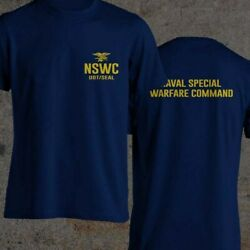 Navy SEAL BUD S NSWC UDT SEAL HELL WEEK BLUE Black and Navy Blue S 3XL T Shirt $22.99