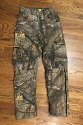SHE Outdoor ladies C4 Camo PANTS womens Size: XS INSULATED REALTREE