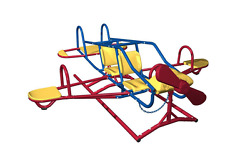 Lifetime Ace Flyer Airplane Teeter-Totter Outdoor Kids Play Playground Seesaw