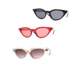 Women Retro 1950s Cat Eye Sunglasses P2457