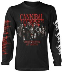 Cannibal Corpse 'Butchered At Birth Baby' Long Sleeve Shirt - NEW
