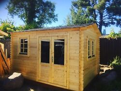 Storage Shed Kit - Guest House Kit - Office Room - She Shed - Mans Cave