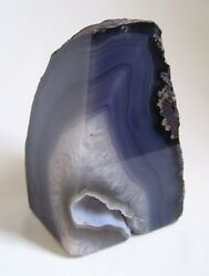 Rock Collector Paperweight Grey Rock Fossil Minerals Crystal Decorative $15.00
