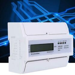 5 100A 3 Phase 4 Wire Electronic Watt Power Consumption Energy Meter KWh Meter $39.58