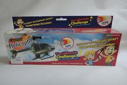 Pull Cord Flying Toy Helicopter No Batteries Easy Assembly Ages 8 amp; Up $12.60