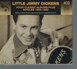 Little Jimmy Dickens~Four Classic Albums Plus Singles 1954-1962~NEW 4 CD BOX SET