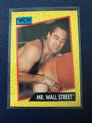 MR. WALL STREET Irwin R. Schyster 1991 Impel WCW #82 MINT $1.99