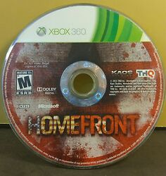 HOMEFRONT XBOX 360 USED AND REFURBISHED DISC ONLY #10974 $2.85