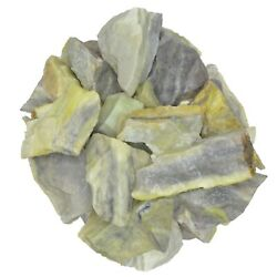 3 lbs of Rough Infinite Stones from India Tumbling Decoration Reiki $29.99
