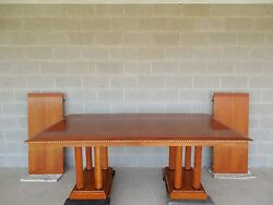 Councill Craftsmen Biedermeier Style Dining Extension Table $2695.00