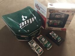 Amp Energy Dale Earnhardt Jr. Collector's Tin & Die Cast Car Lot