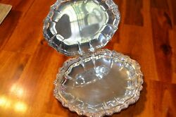 Vtg International Silver Co. Silver Plated Countess Pattern Silent Butler Crumb