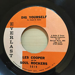 LES COOPER AND THE SOUL ROCKERS DIG YOURSELF EVERLAST RECORDS 5019