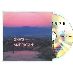 THE 1975 She's American (Radio Edit) 2-TRACK Promo CD (Instrumental)        0906