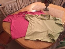 Womans PLUS summer Casual Tops By DRESSBARN Size 22 24 2 TOPS $2.99