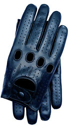 Riparo Genuine Leather Touchscreen Texting Full finger Driving Gloves Black $59.97