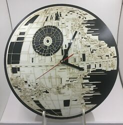 Death Star 13 Inches Clock WALL HANGING CLOCK $25.00