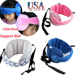 Baby Child Head Support Stroller Buggy Pram Car Seat Belt Sleep Safety Strap