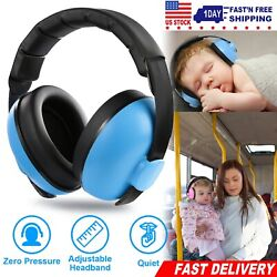 Baby Hearing Protection Earmuff Toddler Noise Cancelling Ear Protection Headset $11.21