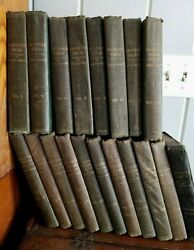RARE 1st EDITIONS 1850-1859 CHARLES DICKENS Household Words 19 Vol. LONDON