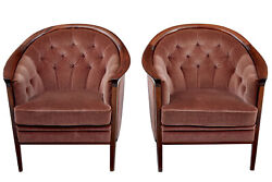 PAIR OF 1960's SWEDISH ANDERSSON ARMCHAIRS