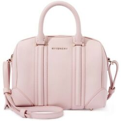 Givenchy 'Lucrezia' Convertible Mini Satchel Light Pink Leather